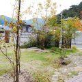 雑木と地元の山石が織成す 四季の彩が美しい庭 備前市F様